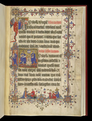 Scenes From The Life Of The Virgin Mary, In 'The Lovell Lectionary'